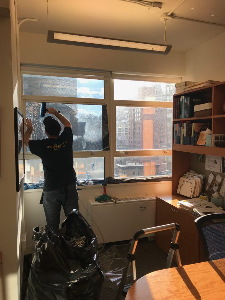 Window Film Installation