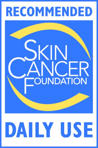 Skin Cancer Foundation Seal of Recommendation Daily Use Official Logo Color