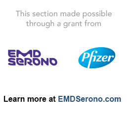 EMD Serono and Pfizer Logo