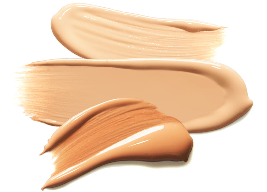 different shades tinted sunscreens